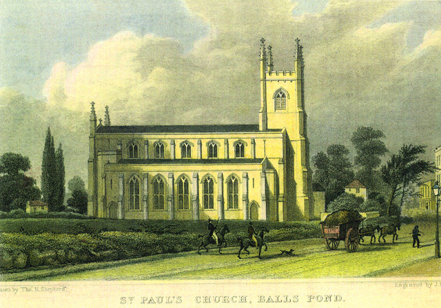 St Pauls Church, Balls Pond Road